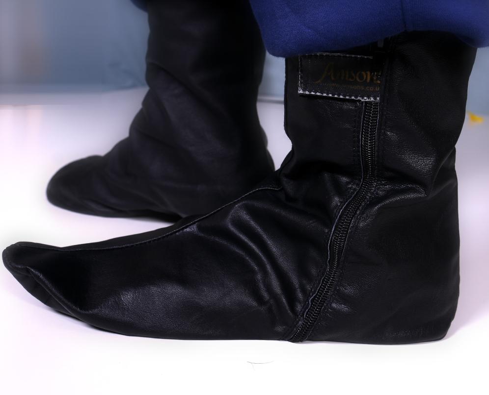 Leather Socks